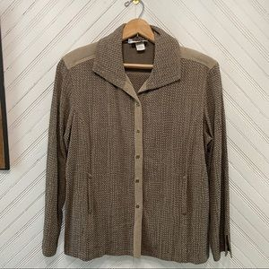 1970s Woven Cardigan Sweater